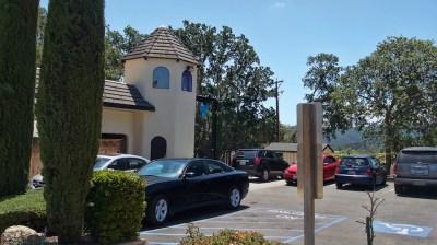 Donati parking lot