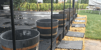 Pahrump Grape Stomp Barrels