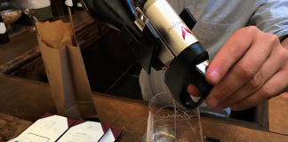 Coravin in Grassini Tasting Room