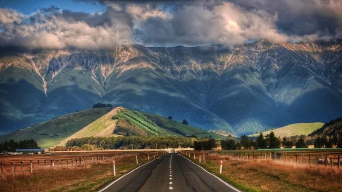 Wide-angle New Zealand