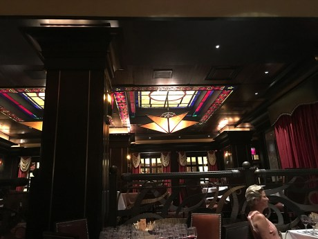 Inside of Vic & Anthony's at the Nugget