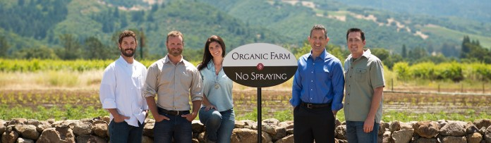 Organic certification and full team