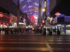 Downtown Vegas crossing blvd