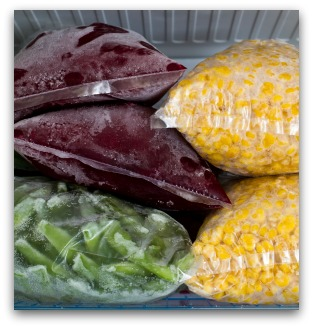 Freezing Vegetables At Home