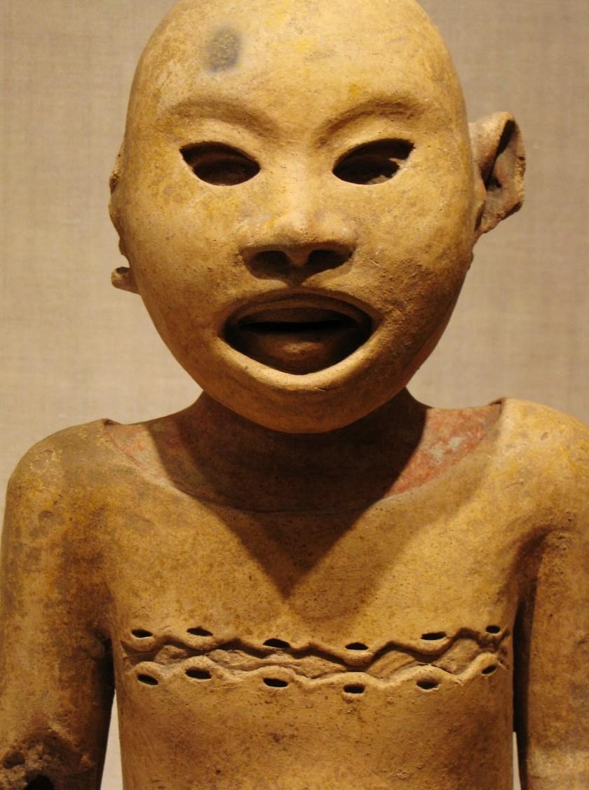 Ritual Impersonator of the Deity Xipe Totec, ceramic and pigment, 1450/1500 CE, Aztec; possibly central Veracruz, Mexico