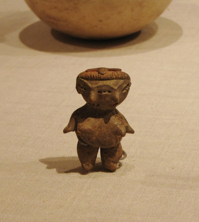 Female Figurine, ceramic and pigment, 500/400 BCE, Tlatilco; Tlatilco, Valley of Mexico, Mexico