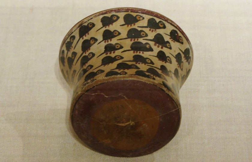 Bowl Depicting a Swarm of Mice, ceramic and pigment, 180 BCE/500 CE, Nazca; South coast, Peru