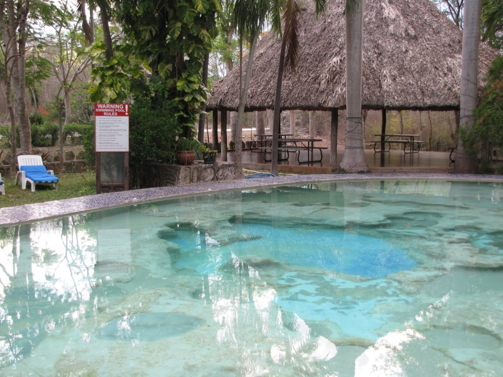 Hotel dolores alba chich n itz vegetarian in a leather Chichen itza mexico natural swimming pool