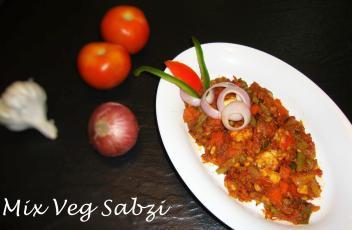 Mix Vegetable Sabzi