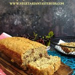 Eggless Banana Cake | Eggless Banana Walnut Cake Recipe