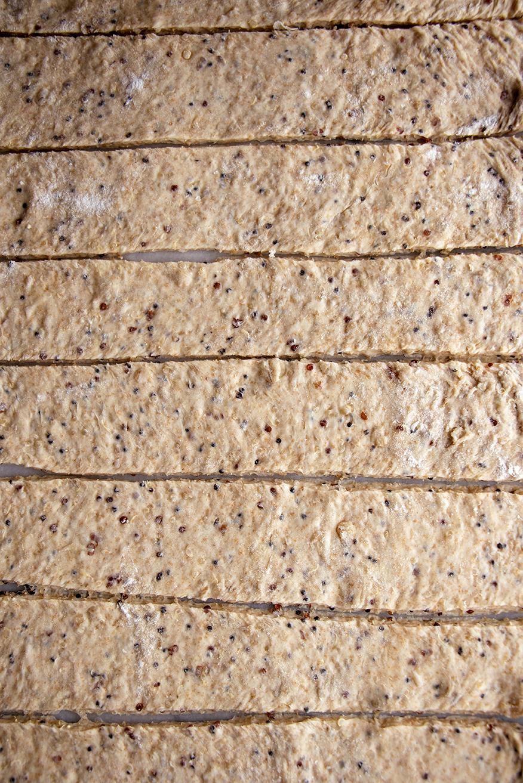 Multi-Grain Knots 2 Ways: Parsley-Garlic & Cinnamon-Whiskey Sugar