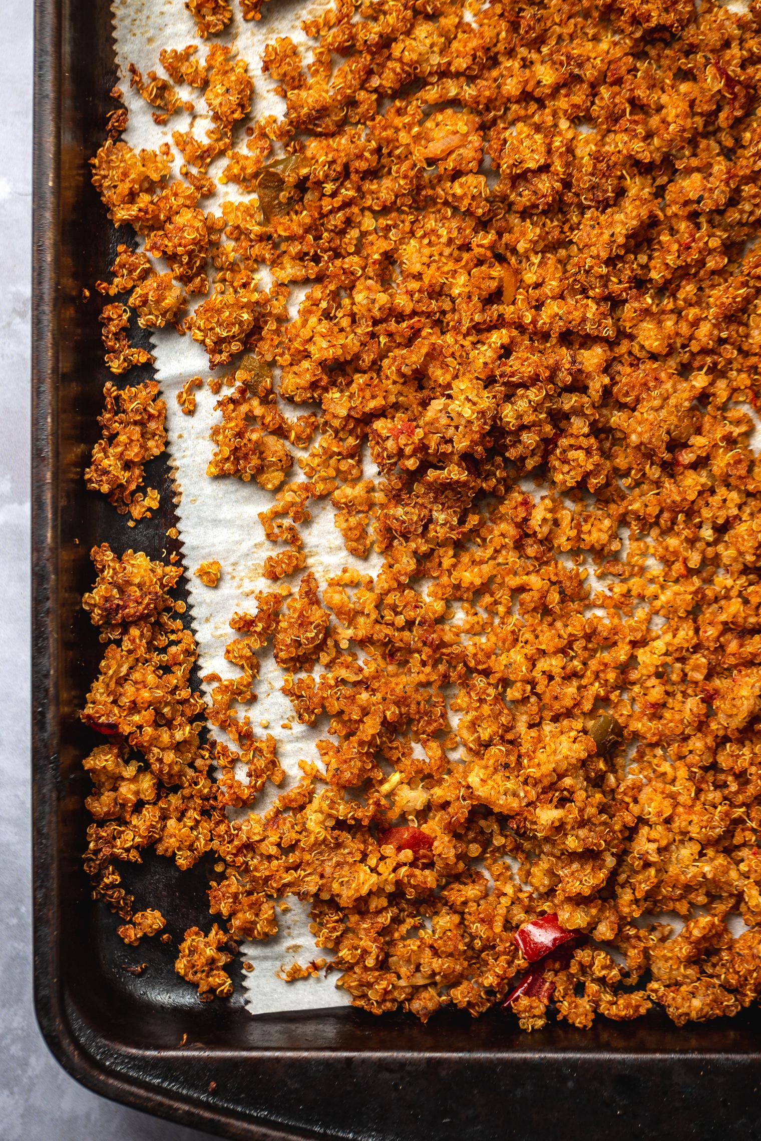 Smoky Quinoa Vegetarian Nachos
