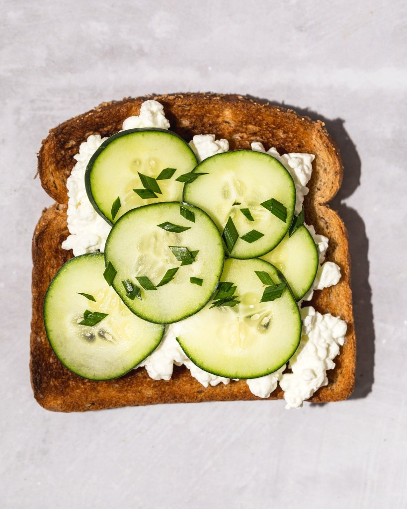 Cottage Cheese Toast