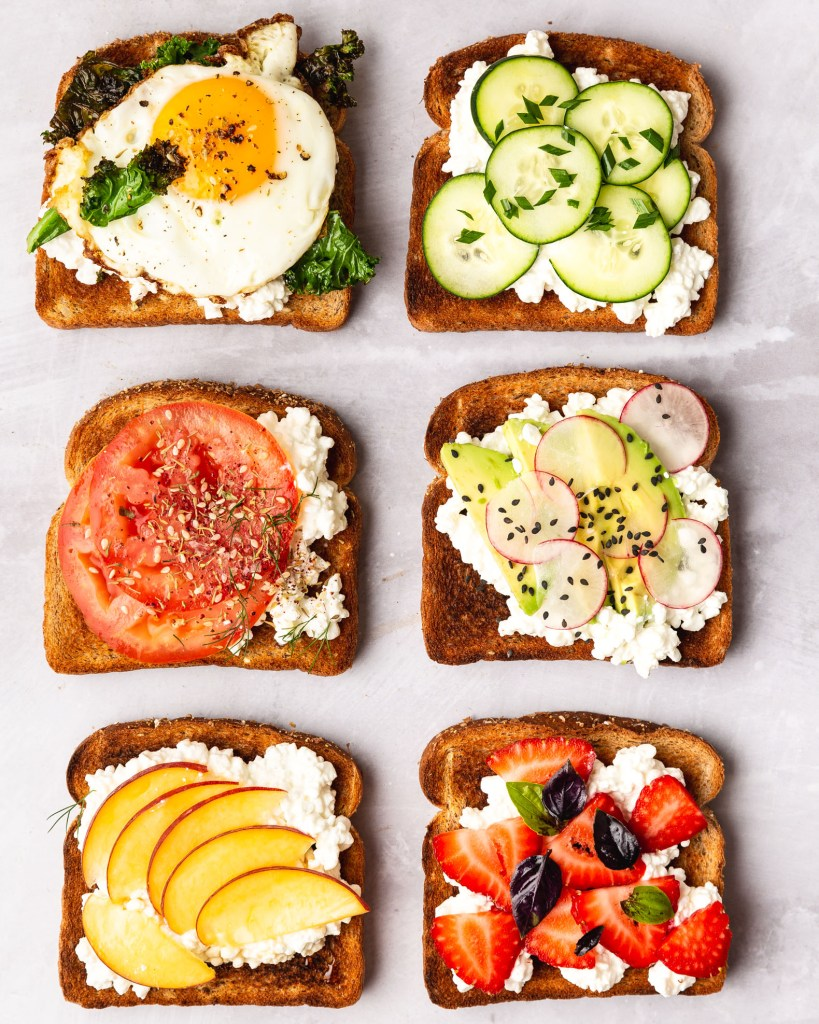 Awe Inspiring Cottage Cheese Toast Ideas Download Free Architecture Designs Ogrambritishbridgeorg