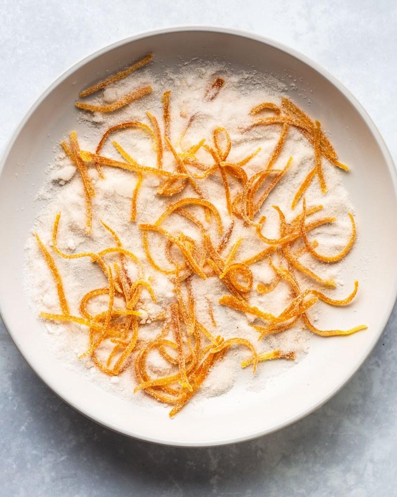 Cardamom Orange Sour Cream Cookies