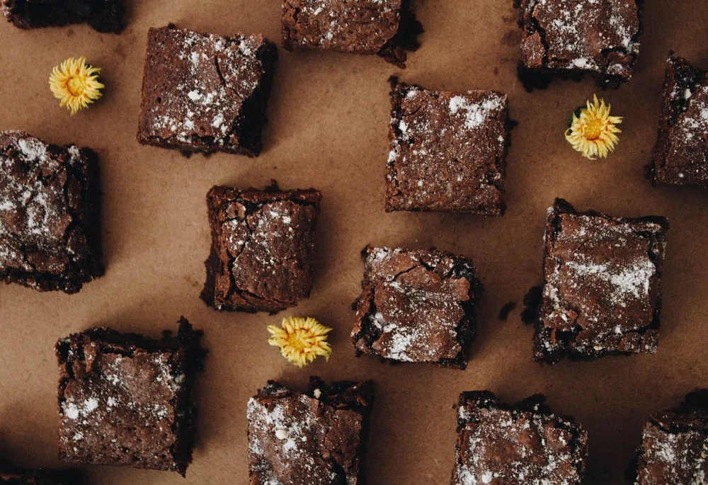 sheet of brownies