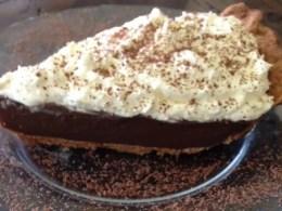 vegan chocolate icebox pie