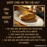 Grilled Corn Recipe https://www.vegetarianzen.com