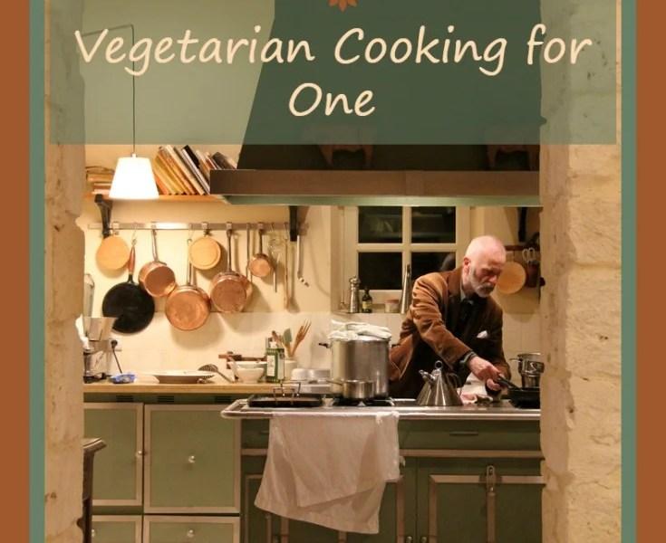 vegetarian zen podcast episode 125 - vegetarian cooking for one http://www.vegetarianzen.com