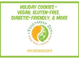 vegetarian zen episode 131 vegan holiday cookies