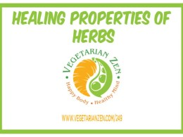 vegetarian zen podcast episode 249 - healing properties of herbs