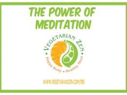 vegetarian zen podcast 185