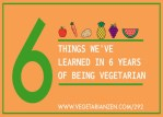 vegetarian zen podcast episode 292 - 6 things we've learned in 6 years of being vegetarian