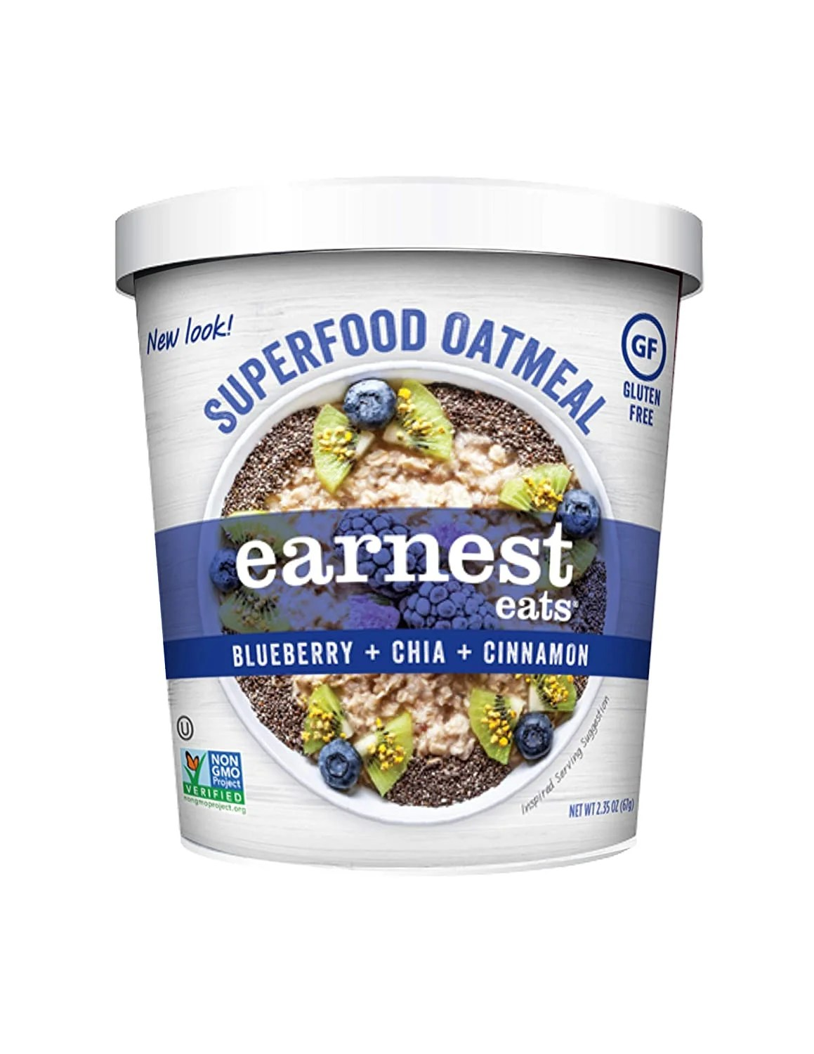 Earnest Eats Gluten-Free Superfood Oatmeal