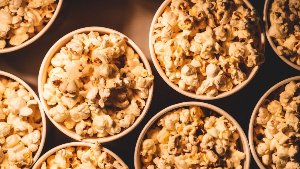 popcorn is a vegan snack
