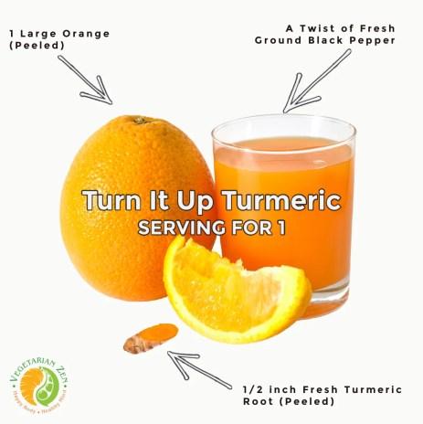 turn it up turmeric wellness drink