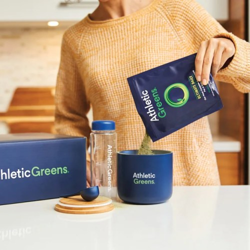 Athletic Greens Ultimate Daily with 75 Vitamins, Minerals, and Whole Food Sourced Ingredients