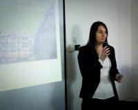 E. D'Halluweyn la responsable de Bruxelles au Namur Veggie Day