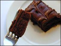 Masitas de chocolate
