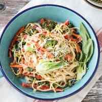 Veggie Lo Mein (Oil Free, Vegan, 30 Minute Meal)