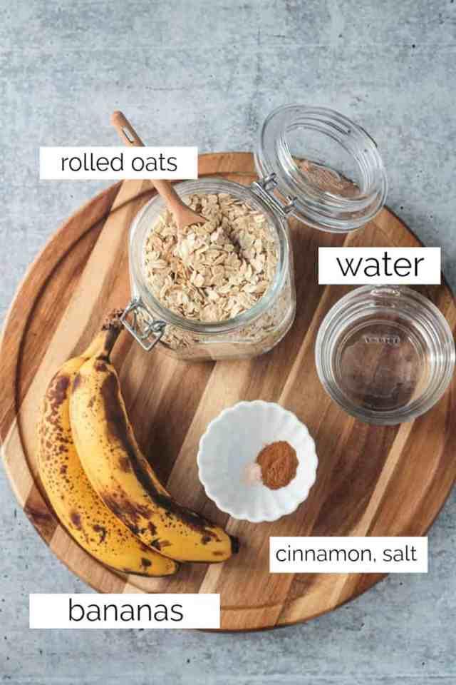 Easy, Sweet, Creamy, Healthy Oatmeal (Dairy Free) ~ Veggie Inspired