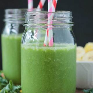 Tropical Green Smoothie (Dairy Free)