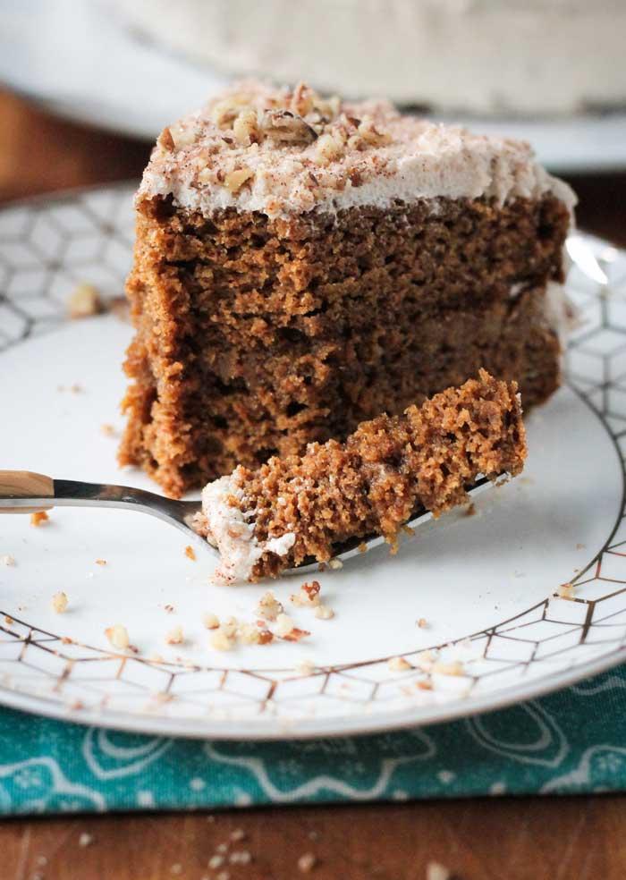 Chai Spiced Pumpkin Layer Cake