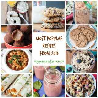 Most Popular Recipes from 2016