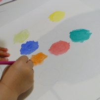 painting the circles