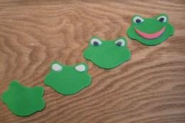 fondant frog