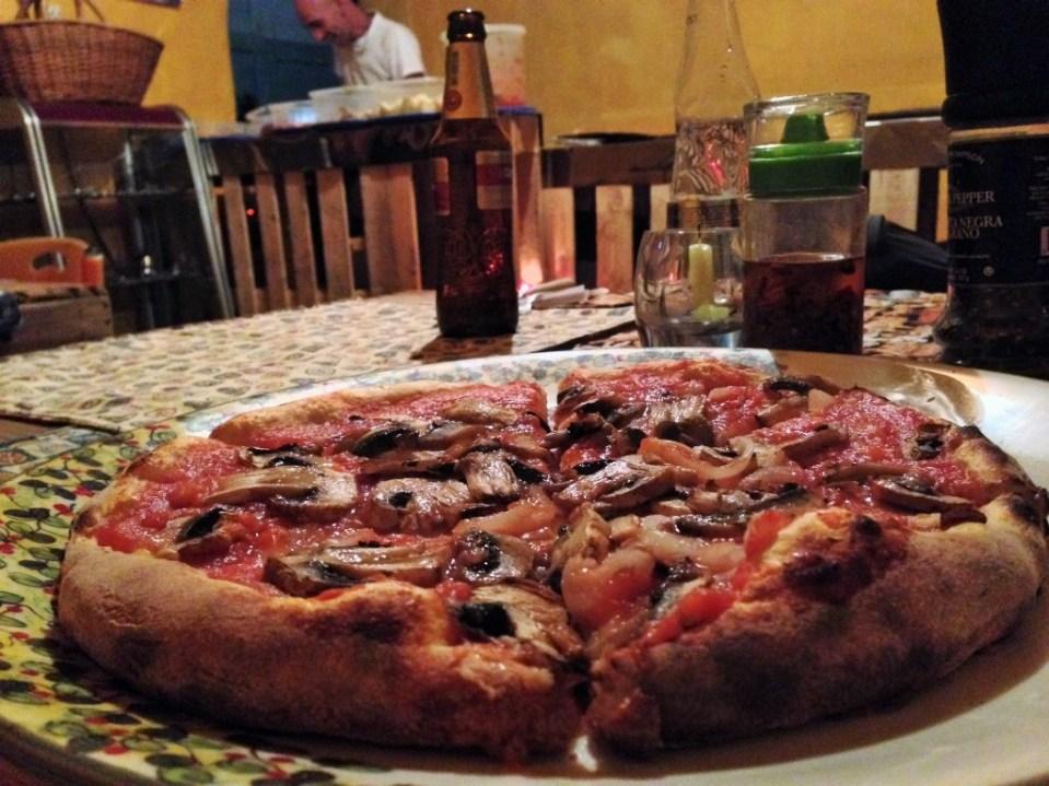 Pizza D´Luigi in Guatape, Colombia