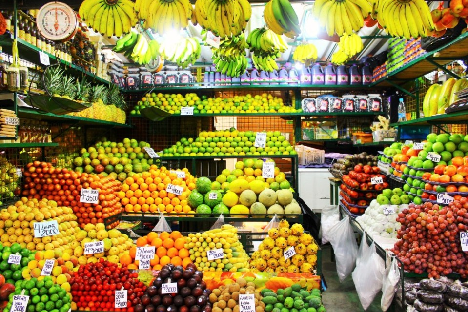 Exotic Fruit Tour Medellin, Colombia