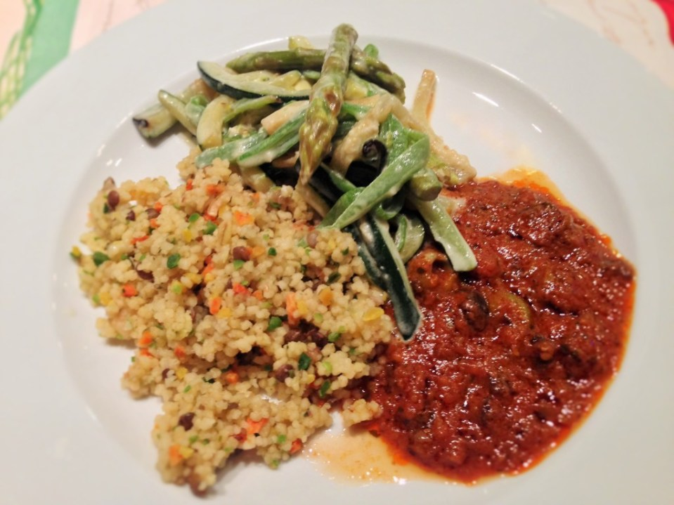 Couscous with Vegetables and Lentils