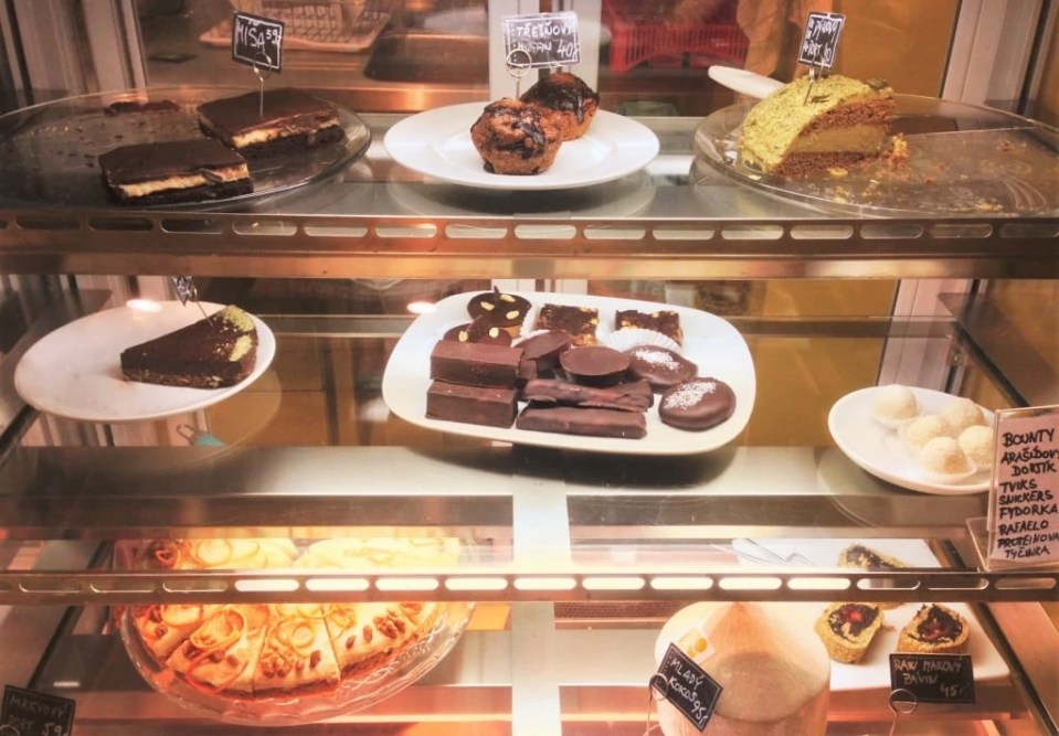 Puro Vegan Desserts in Prague