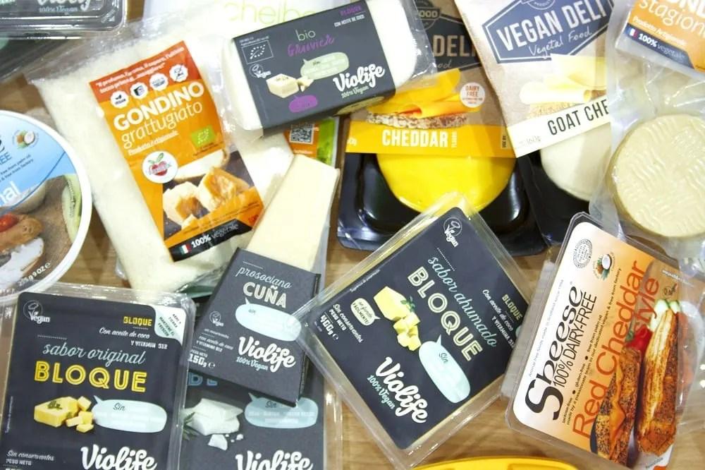 Vegan Cheese in Barcelona at Vegacelona