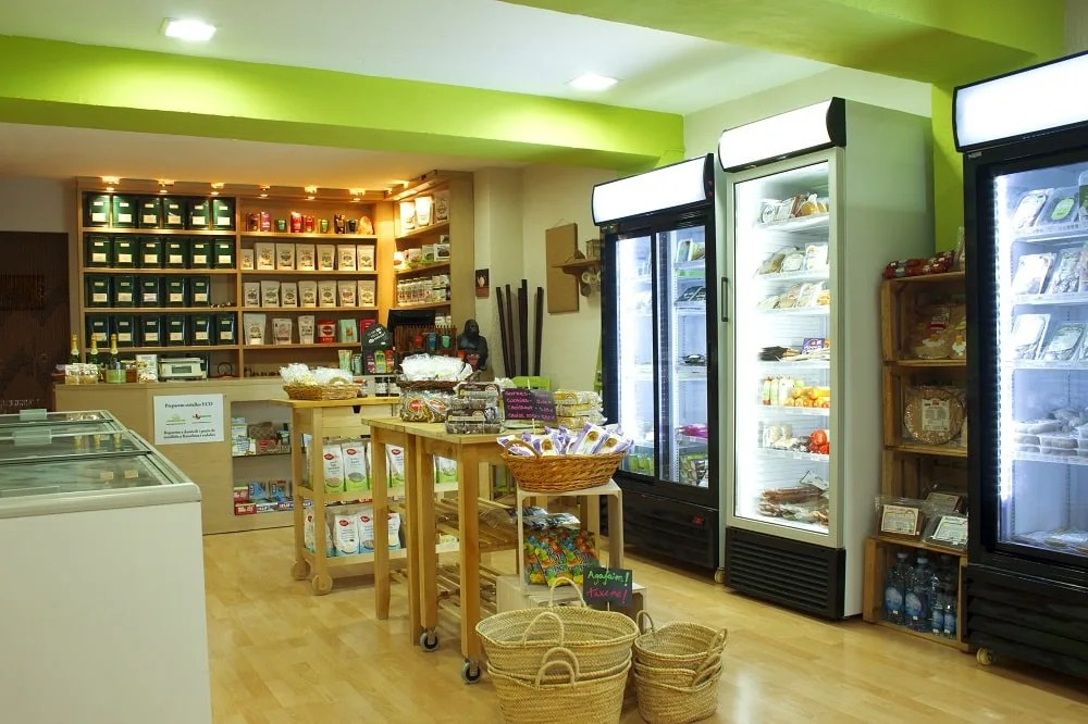 Vegacelona Vegan Grocery Store in Barcelona Spain