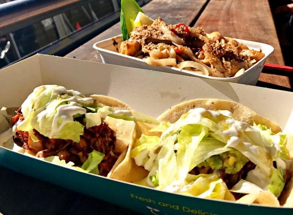 Vegan Jackfruit Tacos London