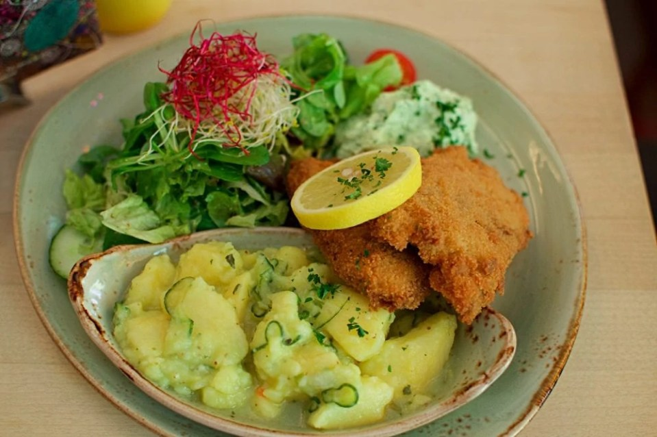Vegan Bavarian food in Munich