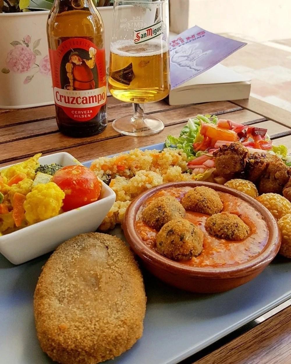 Vegan Tapas at El Vegetariano de la Alcazabilla