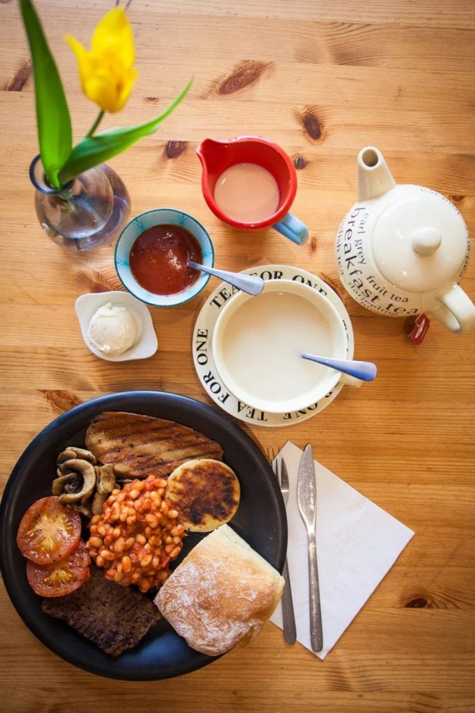Vegan Breakfast at Glasgow Cafe in Glasgow